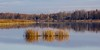 Lake Vendel, Orbyhus (sussexscorpio) Tags: lake sweden orbyhus lakevendel water still calm peaceful serene light grasses reflection trees castle slott landscape scenery canon canon60d scandinavia europe grounds