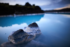 Blue Lagoon (bacon.dumpling) Tags: bluelagoon calm dusk lake landscape nikond750 nopeople nobody outdoor peaceful rock serene serenity sightseeing sigma24mmf14dghsmart tranquil tranquility water iceland neargrindavík