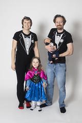 Day 3623 (evaxebra) Tags: family group ash luna ewa ryan tuxedo tuxedoshirt tshirt anna