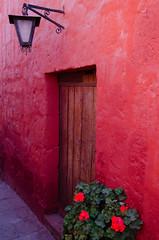 Door, Santa Catalina Monastery (chamer80) Tags: peru arequipa monastery southamerica santacatalina door