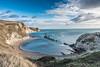 Jurassic Coast Cove, Man O' War (paul.humphrey82) Tags: jurassic weymouth south coast jurassiccoast durdledoor lulworth england cliffs cove southcoast beautifulsea sea waves blue rocks sandy beach sandybeach dorset