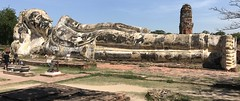 Temple of the Reclining Buddha (Wat Lokayasutharam) Ayutthaya (raffaele pagani) Tags: parcostoricodiayutthaya phranakhonsiayutthaya พระนครศรีอยุธยา thailandia thailand unesco unescoworldheritagesite unescopatrimoniomondialedellumanità patrimoniodellunesco patrimoniomondialedellumanità canon