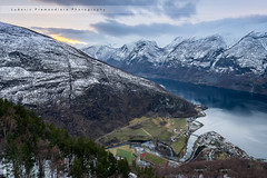 Norway (Lud0fr) Tags: clouds landscape sony fjords water snow city stegastein amazing light mountains enjoy life travel