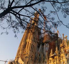 Sagrada Familia (Natali Antonovich) Tags: barcelona sunnybarcelona catalonia barcelonaspain spain architecture style religion faithhopelove antonigaudí mystiquegaudi mysteri art artnouveau