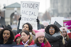 Minnesota women's march against Donald Trump (Fibonacci Blue) Tags: stpaul protest march woman women demonstration event dissent feminism outcry feminist activism outrage twincities activist minnesota trump republican sign gop equality liberal crowd people