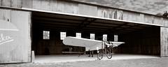 Bleriot Monoplane (Wet Possum) Tags: 4x5 chamonix045n2 fujiacros pyro pyrocathd epsonscan film largeformat scan v700 airplane bleriot texas