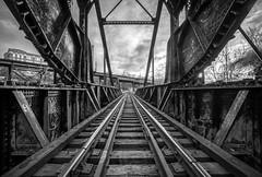 Drawbridge (Michael Chronister) Tags: rva richmond virginia explore exploration railroad blackandwhite bnw
