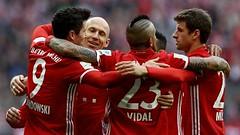 ไฮไลท์ฟุตบอล (Bundesliga) บุนเดสลีกา บาเยิร์น มิวนิค 3-0 ไอน์ทรัค แฟร้งค์เฟิร์ต