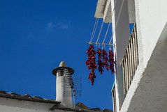 Trevelez (larecettedujour) Tags: alpujarras andalucia trevelez peppers red chimney architecture