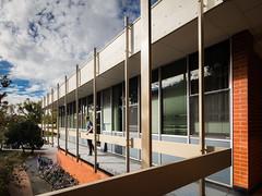 Garran and Burton Halls (Chimay Bleue) Tags: anu architecture midcentury modern modernism modernist design canberra act australia