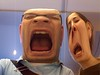 Testing Photobooth at the Apple Store
