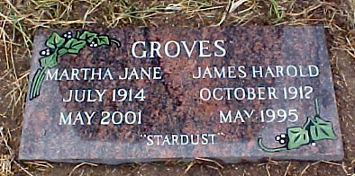 My Parent's Headstone ~ Mom Died 5 Years Ago Today