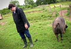 Jason and a pig