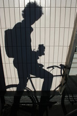 autoportrait with some hair (Zioluc) Tags: shadow bike bicycle hair autoportrait wind tlpoedeleted 0x64635f luciobeltrami