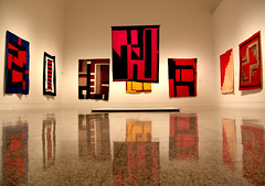 Architecture of the Quilt - MFAH (baldheretic) Tags: architecture quilt bend gees mfah flickawardr
