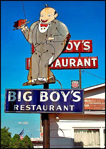 Big Boy Sign