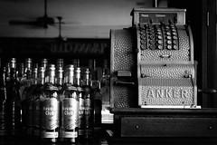 Havana Club (let's fotografar) Tags: reflection havana cuba pb rum reflexo ventilador havanaclub caixaregistradora