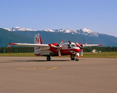 Conair Firecat (CDN Aviator) Tags: flying bc terrace aviation conair firecat cyxt