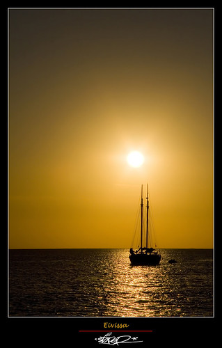 Ibiza's Sunset by Stoper