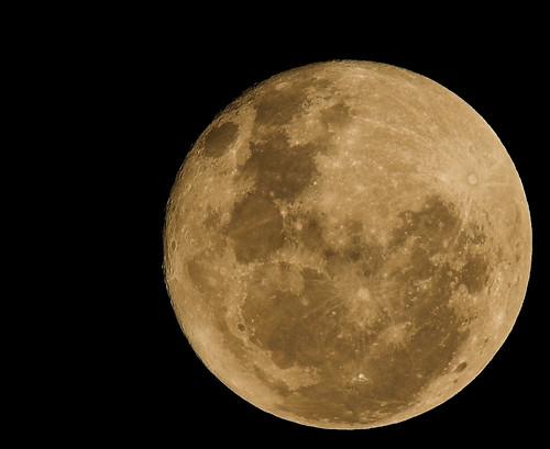 The full moon 12th June 2006