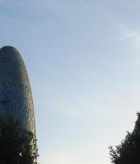 tetris celestial (sunset miami motel) Tags: barcelona torreagbar agbar