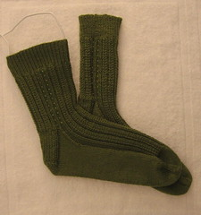Katherine's first socks