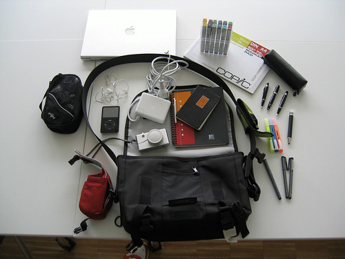 moleskine mac whatsinyourbag d2 timbuk macbookpro
