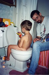 1996-07:08 - Everybody's Busy (smithereen11) Tags: boy baby cute daddy toys mommy father working mother adorable son cutie lindo predigital autism pottytraining hangout corin mignon leuk nett  smithereen11 sot