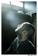 RAY of light (Hugo Provoste) Tags: blue light portrait sun sunlight man male looking ilumination hugoprovoste provoste