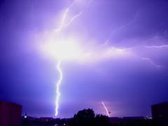 Ka-frikken-BOOM (Alexander Yates) Tags: storm nature weather topv111 night ilovenature washingtondc interestingness writer lightning novelist 25faves travelwriter alexanderyates