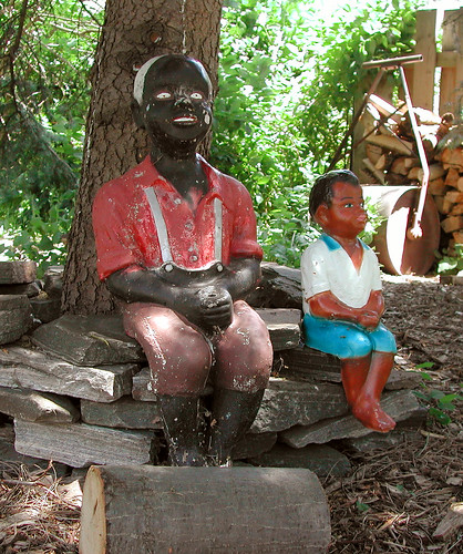 Are These Racist Lawn Statues Racism Lawnstatues Ask