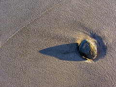 Stone at Nauset Beach- Orleans, MA (Chris Seufert) Tags: beach ma orleans films massachusetts christopher cape cod nauset mooncusser seufert
