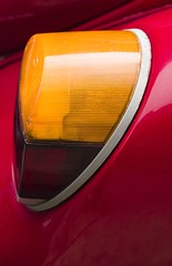 Tail Light (Thomas Hawk) Tags: auto light red car sign closeup vintage volkswagen lens gold photo automobile bright tail both damage visible taillight tailight