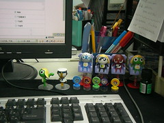 辦公桌侵略