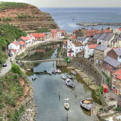 Staithes (Tall Guy) Tags: uk england canon landscape photography photo photos yorkshire villages photograph enjoy northyorkmoors hdr staithes tallguy