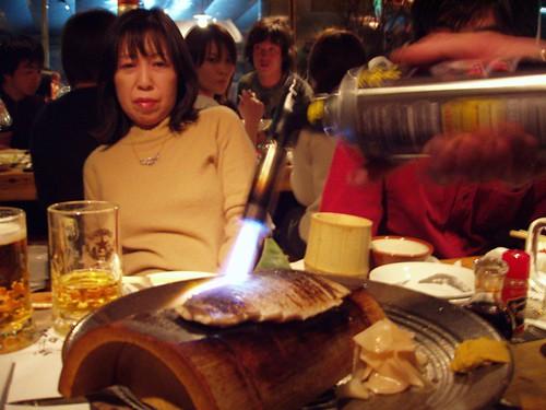 sakura restaurant cooking fish