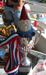 The Gnome in the Old Guys Games Cup (Swankster) Tags: california gnome july4 hermosabeach