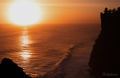 H*O*K*U*S*A*I - Uluwatu Sunset - (DELPHINES) Tags: trip travel light sunset shadow sea vacation sky bali nature water beautiful indonesia bravo 500v20f 123 321 1on1 inspiredbymusic twtme 123landscapes theworldthroughmyeys