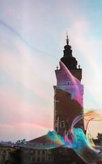 krakow: old city hall tower (smif) Tags: old city tower film canon square eos hall market poland polska krakow 2006 bubble kr analogue nondigital kraków cracow cracovia ratuszowa cracovie rynek krk krakau krak ratusz wieża główny krakoff smif copyrightbysmif królewskiestołecznemiastokraków