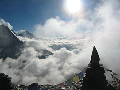Cloud in the Chhukhung Valley