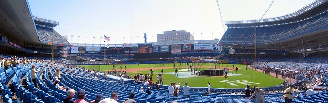 Yankee Stadium: Home Plate (Panoramic)