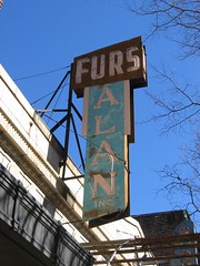 Alan Furs, Inc. neon sign on Grace Street (F33) Tags: sign alan neon inc richmondva furs gracest