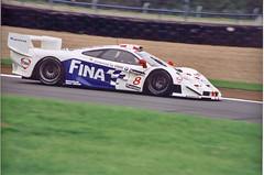 McLaren F1 GTR Steve Soper Donnington 1997