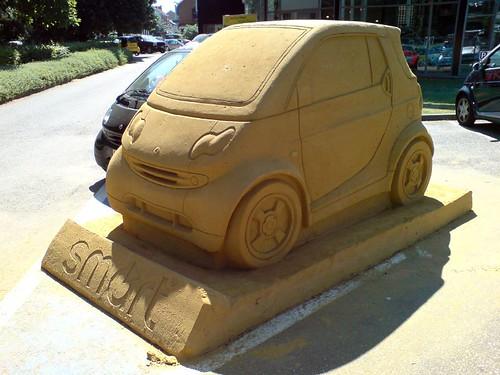 sand smart car