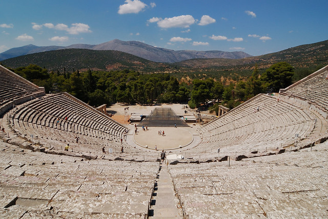 #1 of Ancient Theatres Of Greek Roman Antiquity
