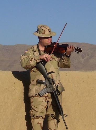 Violin Soldier