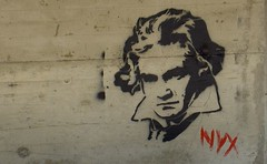 graz - graffiti :: beethoven - by southtyrolean