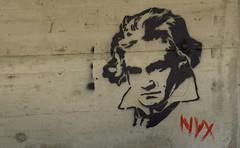 Graffiti Beethoven, por southtyrolean