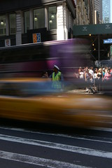 New York 2005 nr. 06 (PW74) Tags: new york usa newyork blur yellow traffic manhattan cab taxi united broadway daytime states pw thecontinuum pw74
