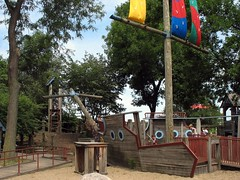 Playground Lion Ship